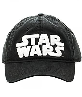 Black Star Wars Logo Adjustable Hat