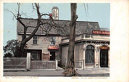 Witch House Salem Massachusetts - Witch House Salem Massachusetts Postcard