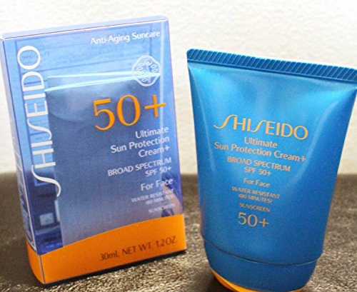 Shiseido Ultimate Sun Protection Cream Broad Spectrum SPF 50 For Face 30 ml 1.2oz