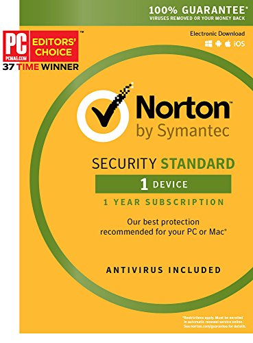 Norton Security Standard - 1 Device [Key Card] (Norton Virus Software compare prices)