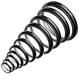Neewer 11 Pieces Step-up Adapter Ring Set Made of Premium Anodized Aluminum, Includes: 26-30MM 30-37MM 37-43MM 43-52MM 52-55MM 55-58MM 58-62MM 62-67MM 67-72MM 72-77MM 77-82MM (Black)