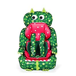 Cosatto Zoomi Car Seat | Group 1 2 3, 9-36 kg, 9 Months-12 years, Side Impact Protection, Forward Facing (Dino Mighty)