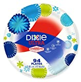 Health & Personal Care : Dixie Ultra Paper Plates, 6 7/8 Inch Plates, 94 Count; Designs May Vary