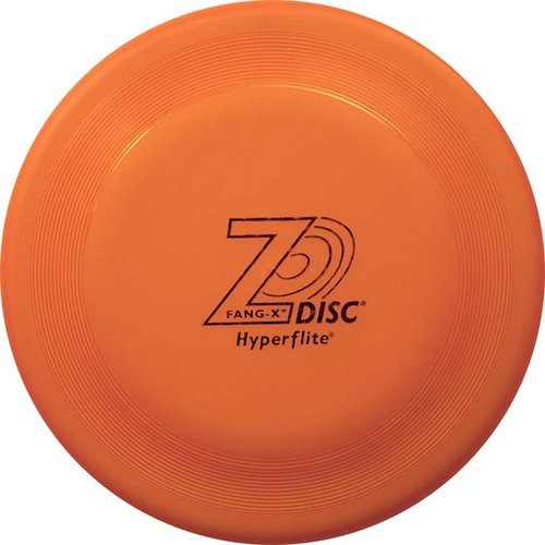 Hyperflite z-disc fang-x Dog Disc – Puncture Resistant Canine Disc (オレンジ) B077GBKFDB