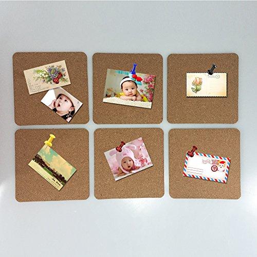 Cork Board Tiles 8x8