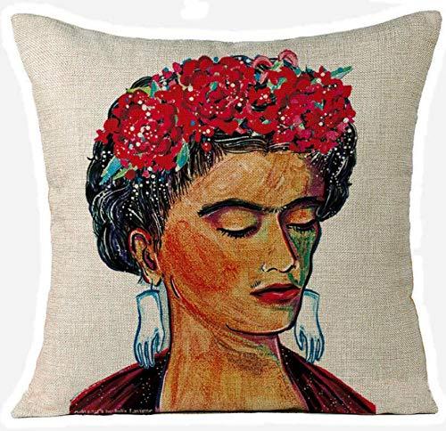 KeavyLee 1 Pieza Mexicana Pintor Frida Kahlo Funda de ...