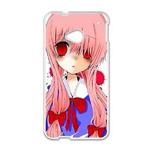 HTC One M7 phone case White Mirai Nikki Future Diary AAAD1781785