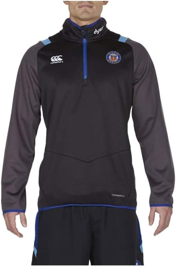 Bath Rugby Thermoreg Qtr Zip Top 17 / 18  X-Large