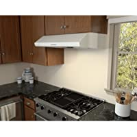 Zephyr AK2500B 695 CFM 30 Inch Wide Under Cabinet Range Hood from the Hurricane, White