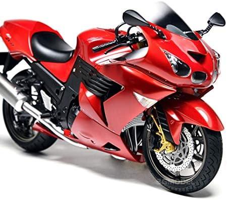 1/12スケールスーパーバイクパズルモデルキット、日本ZZR1400大人のおもちゃとギフト、7.1インチx 2.5インチx 3.