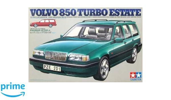 Amazon.com: Tamiya 1/24 Volvo 850 Turbo Estate (1/24 sports car: 24152): Toys & Games