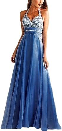 Abiti Lunghi Da Sera Eleganti.Bolawoo Vestiti Lunghi Donna Eleganti Da Cerimonia V Scollo Abito