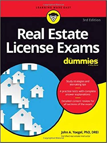 Amazon com: Real Estate License Exams For Dummies (9781119370659