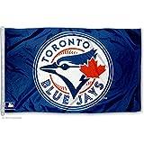 MLB Toronto Blue Jays WCR55660012 Team Flag, 3' x 5'