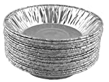 """Aluminum Foil Mini Pie Pans/Tart pans 4 1/4"""" For Mini Pot Pies And Pastries 20 Pcs."""