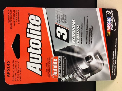 Autolite-Ap5145dp2-Platinum-2-Spark-Plugs-in-Blister-Pack-AP5145