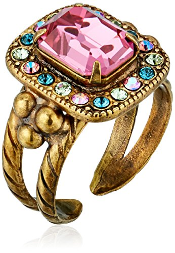 Sorrelli-Happy-Birthday-Opulent-Octagon-Adjustable-Ring