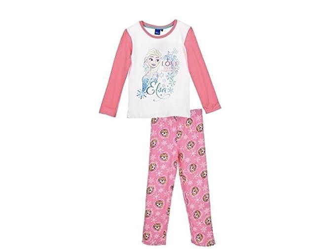 Frozen - Pijama - para niña rosa 6 años