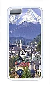 iPhone 5C Case Mittenwald Bavaria Germany TPU Custom iPhone 5C Case Cover White by ruishername