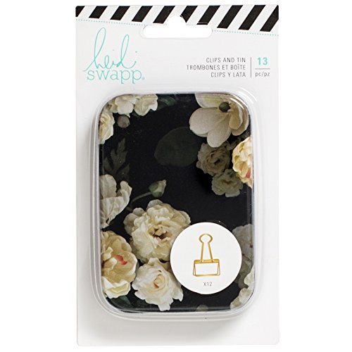 American Crafts 313620 Heidi Swapp Magnolia Lane Embellishment 13 Gold Clips by American Crafts