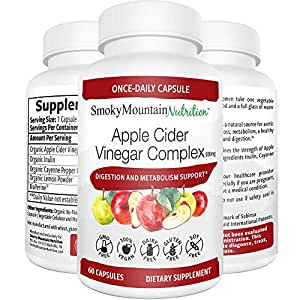 Amazon.com: Organic Apple Cider Vinegar Complex (60