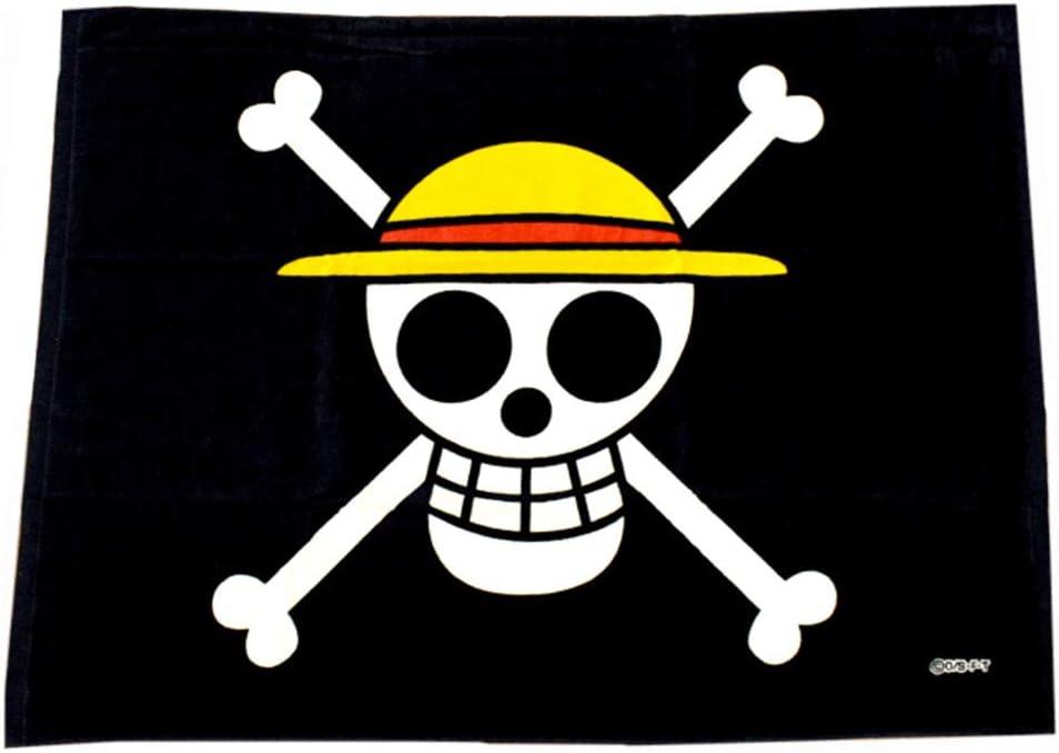 US Stock Free Ship~ One Piece Monkey·D·Luffy Straw Hat Pirates Cosplay Flag Kids