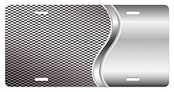 Zaeshe3536658 Grau Nummernschild Coole Hintergrund Mit