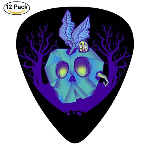 Maggot'S Apple 351 Shape Medium Classic Celluloid Picks, 12-Pack, For Electric Guitar, Acoustic Guitar, Mandolin, And (Burton Black Necklace)