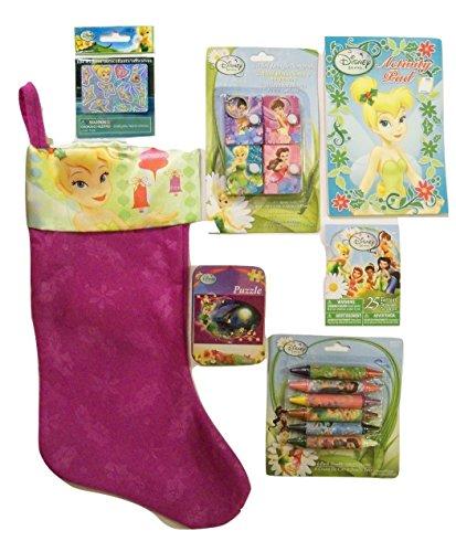 Meggan's Warehouse Disney Fairies Christmas Stocking Bundle ~ Festive Tinker Bell 18