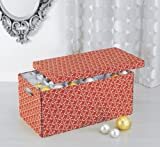 Organize It All Christmas Ornament Storage Box with Dividers (Discontinued by Manufacturer)