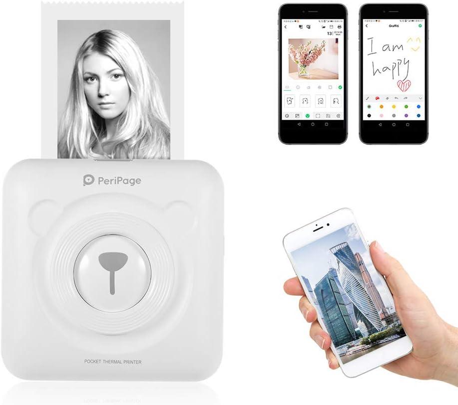 Aibecy PeriPage Mini Photo Printer, Wireless BT Thermal: Amazon.de:  Computers & Accessories