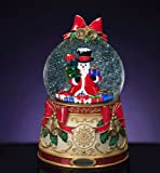 RADKO STATELY SNOWMAN 120mm Musical Snow Globe Christmas