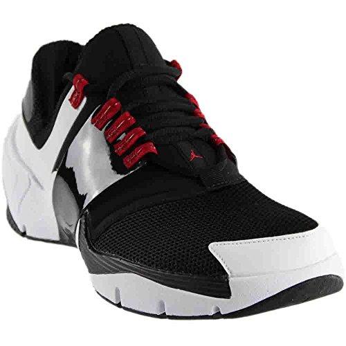 Jordan Nike Men's Alpha Trunner Black/Black White Gym Red Training Shoe 8 Men US