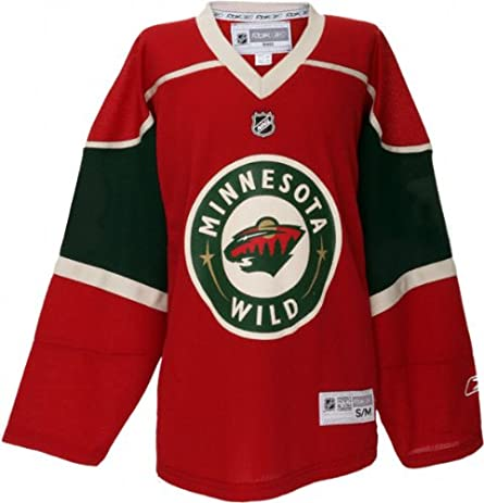 ... Sports Outdoors NHL Minnesota Wild Replica Youth Jersey 2cacf807c