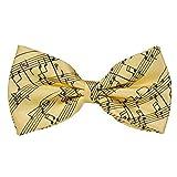 Colorful Musical Music Notes Necktie Tie Neckwear Bass Guitar Music Necktie
