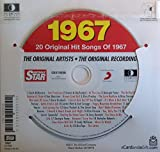 1967 Birthday Gift - 1967 Chart Hits CD and 1967 Birthday Card