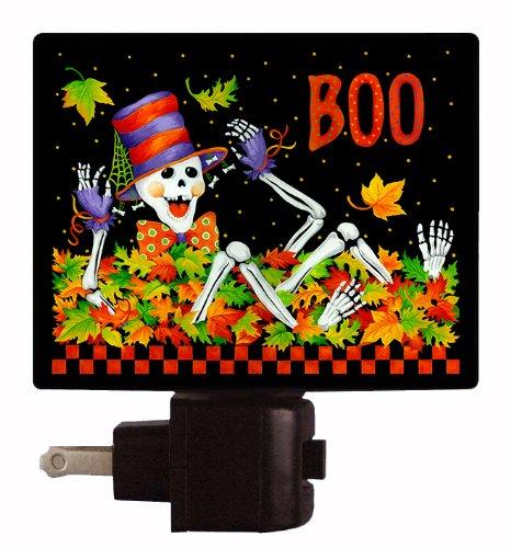 Halloween Night Light - Mr. Funny Bones - Skelton Night Light - LED NIGHT LIGHT