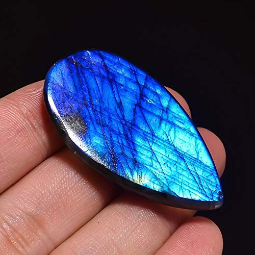 Labradorite Blue Fire Natural Loose Gemstone Cabochons 20 Pieces Wholesale Lot Healing Crystal Jewelry Making Supply # 9868
