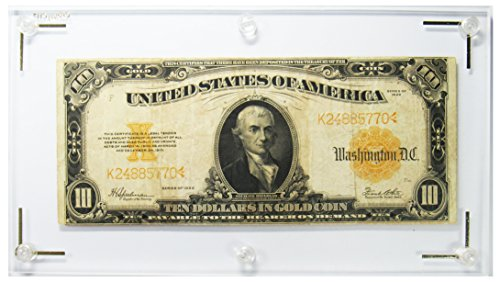 1922 Series $10 Gold Certificate VERY Fine