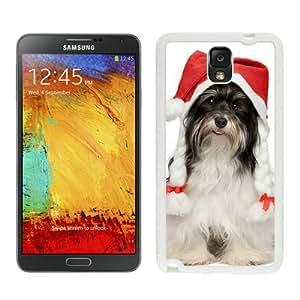 Customized Portfolio Christmas Dog White Samsung Galaxy Note 3 Case 40