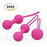 [3-Piece Set] Ben Wa Kegel Exercise Balls - Women Pelvic Floor Exercisers, Vaginal Tightening, Post Pregnancy Recovery Sexual Health by L-vénus