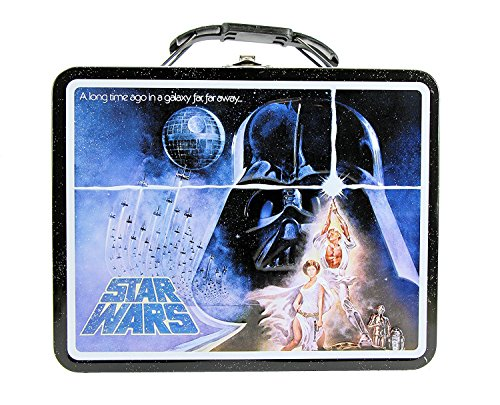 Star Wars A New Hope Tin Lunch Box - A Long Time Ago In A Galaxy Far, Far Away...