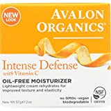 Organics Vitamin C Rejuvenating Oil-Free Moisturizer by Avalon for Unisex - 2 oz Moisturizer