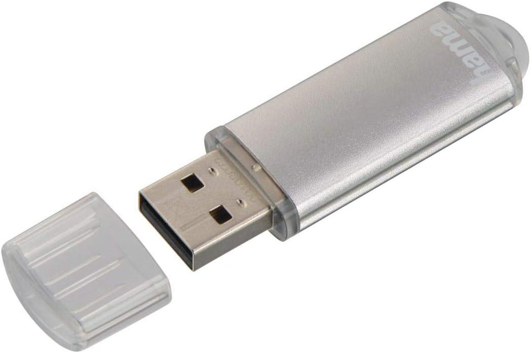Hama 128gb Usb Stick Usb 2 0 Datenstick Silber Computer Zubehör