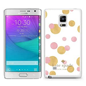 DIY Hot Sale Samsung Galaxy Note Edge Case,Kate Spade 18 White New Design Samsung Galaxy Note Edge Phone Case