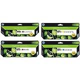 HP Set di Originario Cartucce d'Inchiostro, 970XL Nero e Colore 971XL Ciano/Magenta/Giallo