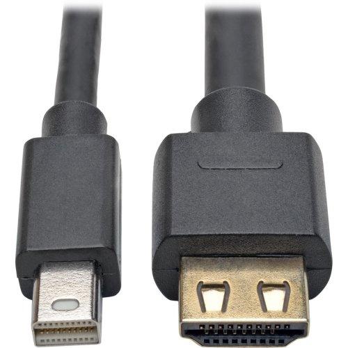 Tripp Lite Mini DisplayPort 1.2a to HDMI 2.0 Active Adapt...
