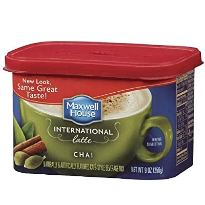 Maxwell House International Cafe Style Beverage Mix, Chai Latte 9 oz by Maxwell House