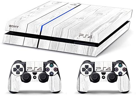 Skin PS4 HD WHITE WOOD madera blanca - limited edition DECAL COVER ADHESIVO playstation 4 SONY BUNDLE: Amazon.es: Videojuegos