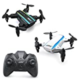 JJRC Drone H345 Mini Drone Foldable Drone Quadcopter, 2.4G 4CH 6 Axis Gyro RC Drone JJ1 JJ2 Two in One, Toy Christmas Gift like JJRC H36 Eachine e010